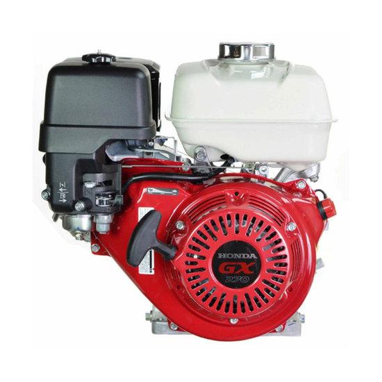 Afbeelding van Honda GX270UT2 QX Q4, 25,4 mm as met olie-beveiliging