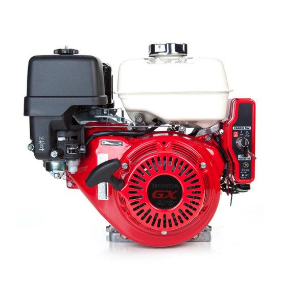 Afbeelding van Honda GX270UT2 RH E5, 22 mm as met reductie en olie-beveiliging