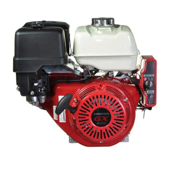 Afbeelding van Honda GX340UT2 QX E4, 25,4 mm as met olie-beveiliging