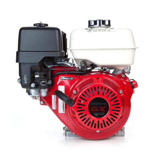 Afbeelding van Honda GX240UT2 QX E4, 25,4 mm as met olie-beveiliging