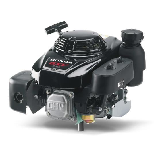 Afbeelding van Honda GXV160UH2 N5 5, 25,4 mm as met bougiesleutel en korte as
