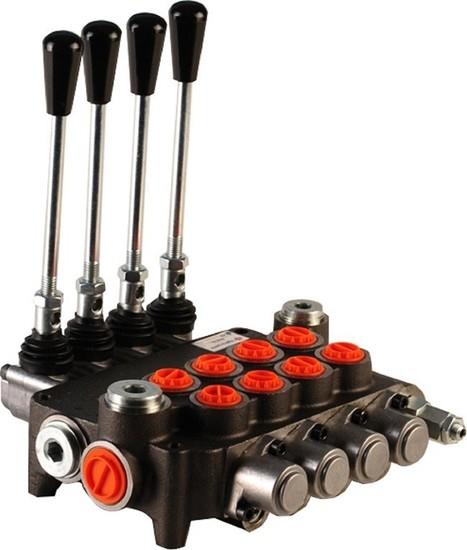 """Afbeelding van Hydropack 4P80 monoblok stuurventiel 1/2"""" BSP, 80l/min"""
