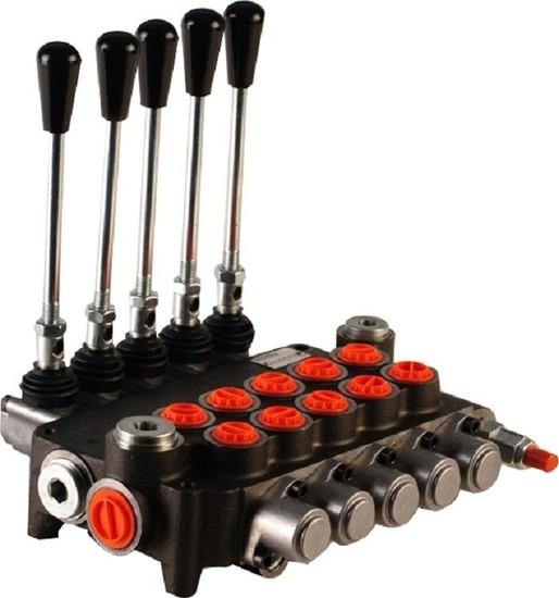"""Afbeelding van Hydropack 5P80 monoblok stuurventiel 1/2"""" BSP, 80l/min"""