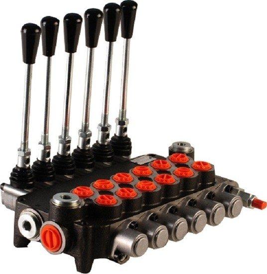 """Afbeelding van Hydropack 6P80 monoblok stuurventiel 1/2"""" BSP, 80l/min"""