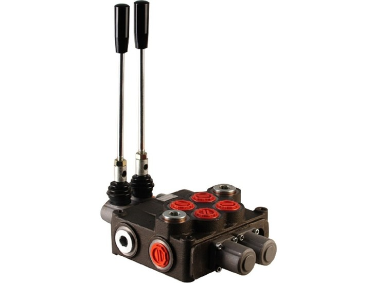 """Afbeelding van Hydropack 2P120 monoblok stuurventiel 1"""" BSP, 120l/min"""