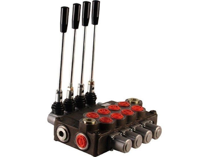 """Afbeelding van Hydropack 4P120 monoblok stuurventiel 1"""" BSP, 120l/min"""