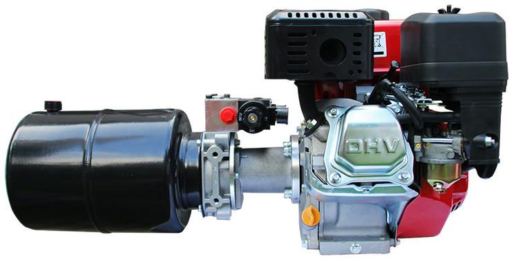 Afbeelding van P+T hydraulieksysteem met 6,5pk benzinemotor en e-start