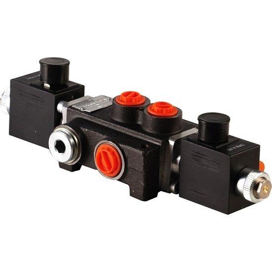 """Afbeelding van 12V Hydropack Z50 solenoid stuurventiel 3/8"""" BSP, 50l/min"""