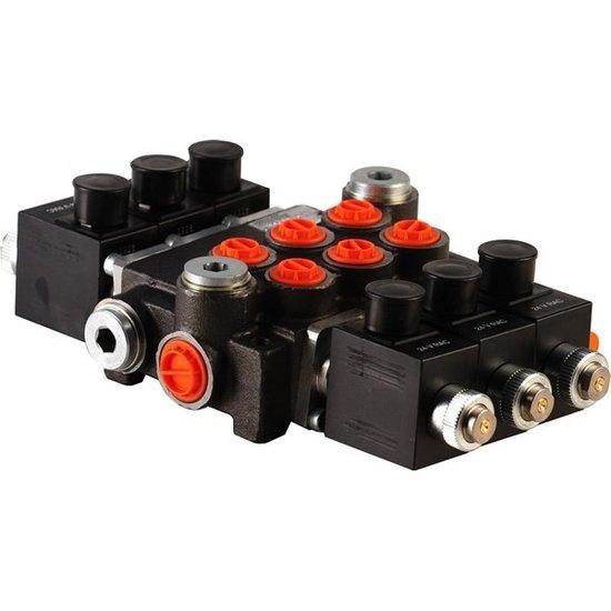 """Afbeelding van 12V Hydropack 3Z50 solenoid stuurventiel 3/8"""" BSP, 50l/min"""