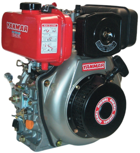 Yanmar L100 dieselmotor (handstart)