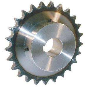 """Kettingwiel 1/2"""" x 5/16"""" 12 tanden 14 mm boring 5 mm spie"""