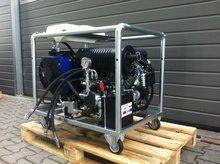Hydrauliek aggregaat met 22 pk v-twin benzinemotor